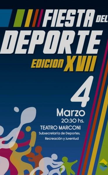Se realiza en Saladillo La Fiesta del Deporte 2016
