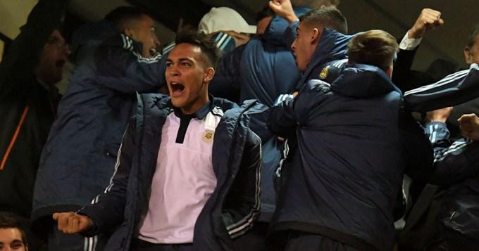 Argentinita clasificó el Mundial gracias a Colombia