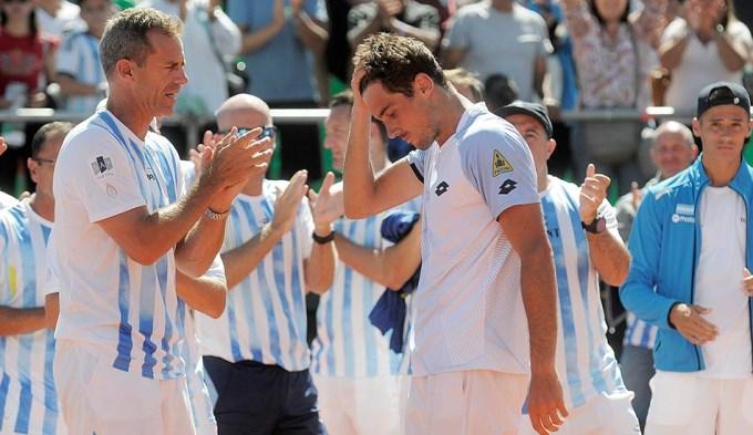 Siamo fuori de la Copa: Italia eliminó al campeón de la Davis