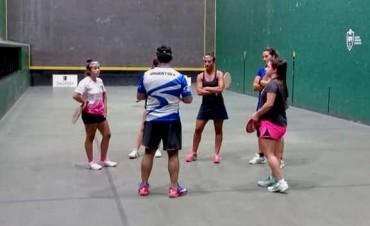 Fabiana Burgos entrena en el CENARD