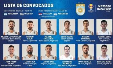 La selección argentina con Marcos Delía juega en Olavarría