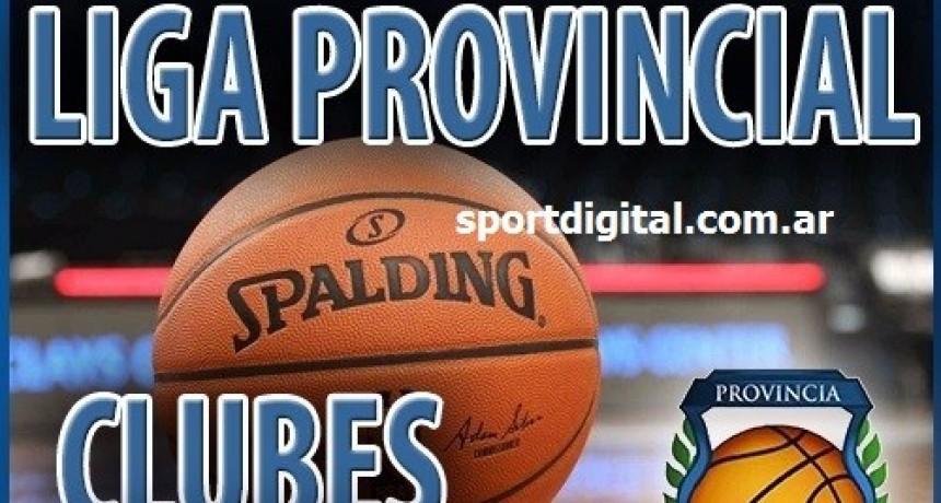 Arranca la quinta fecha del Provincial de clubes de Basquet