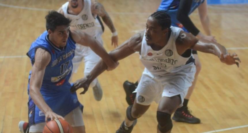 Bahia basket le cortó el invicto a San Lorenzo