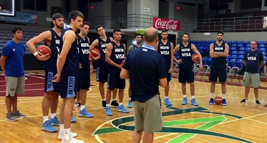 Selección Argentina de básquet enfrenta hoy a EE.UU