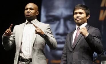 Presentaron oficialmente la pelea Mayweather-Pacquiao: la bolsa, 300 millones de dolares