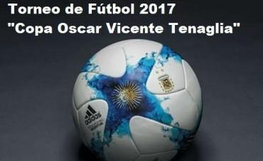 Se realizó el fixture del Torneo Apertura 2017 Copa