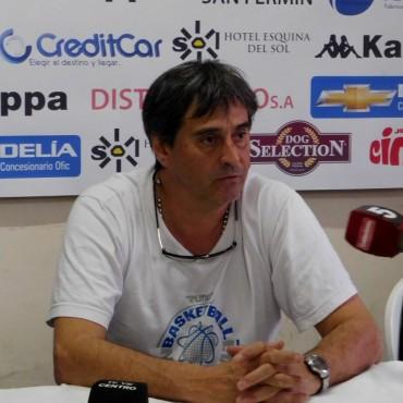 El club Ciudad de Saladillo no renovó con Oscar Chacón