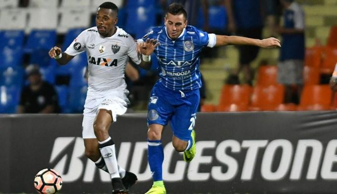 Godoy Cruz durmió y el Mineiro se lo empató