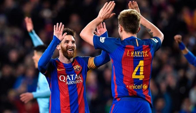 Messi la rompió toda y Barcelona recuperó la punta