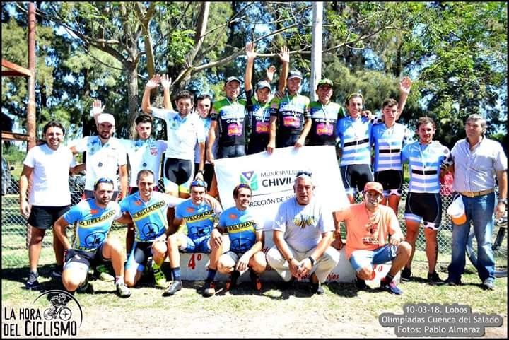 Chivilcoy ganó en Ciclismo en la Cuenca del Salado