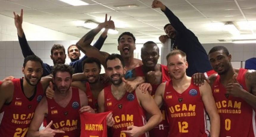 UCAM Murcia le ganó al campeón y avanza a cuartos (83-72)