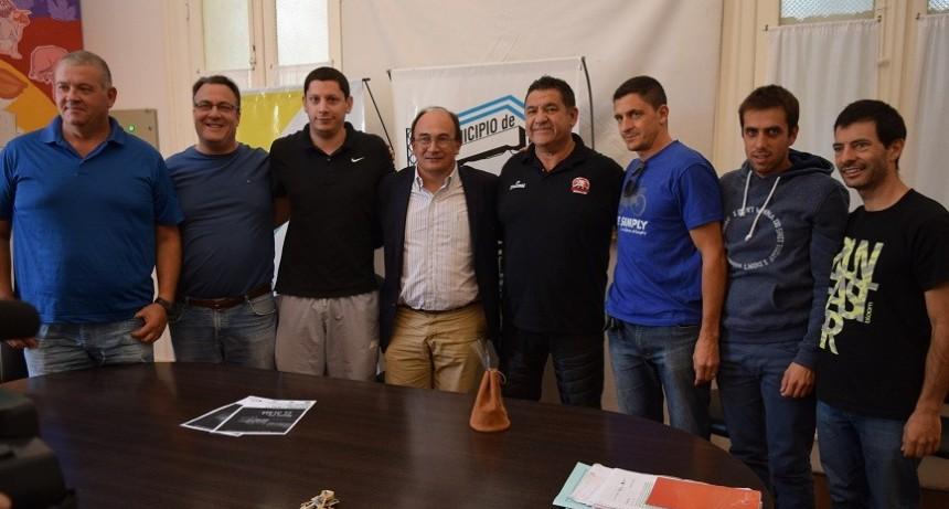 Guillermo Vecchio estuvo en el municipio local