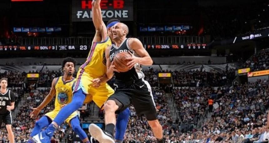 Nuevo récord de Ginobili en San Antonio Spurs