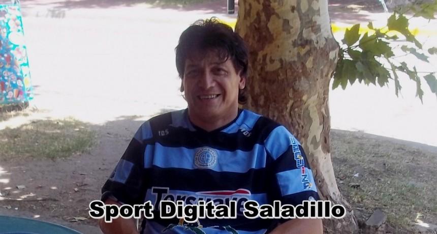 """Elvio Vázquez: """"Parque es un equipo que se hace muy fuerte de local pero estamos confiados en conseguir un buen resultado"""""""
