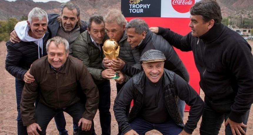 Los campeones de Mexico 86 volvieron a Tilcara