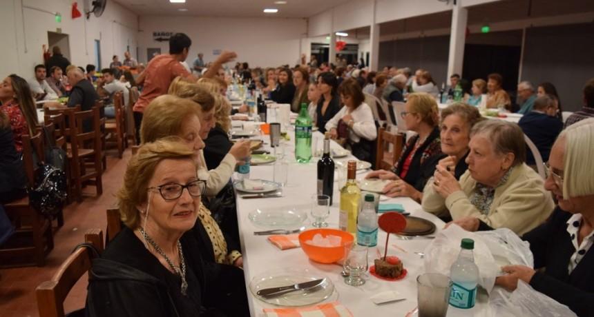 Cena del reencuentro del Club La Lola