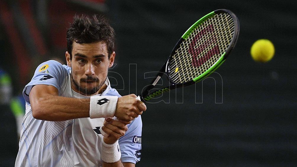 El tenista argentino Guido Pella conquistó su primer título ATP en San Pablo