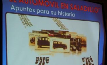 """Excelente presentación del libro """"El Automóvil en Saladillo"""""""