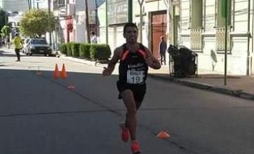 Ezequiel Aguilera fue segundo en las Olimpiadas de la Cuenca del Salado