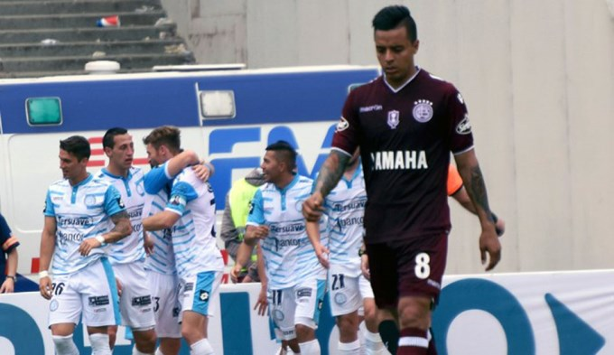 Barrientos dio doping positivo en Lanús