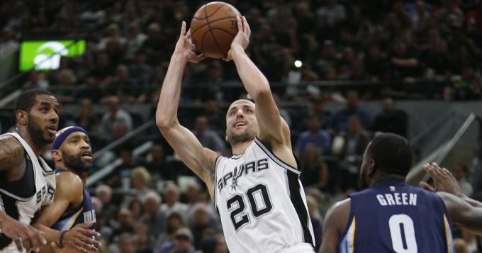Ginóbili volvió al gol y los Spurs al triunfo en la NBA