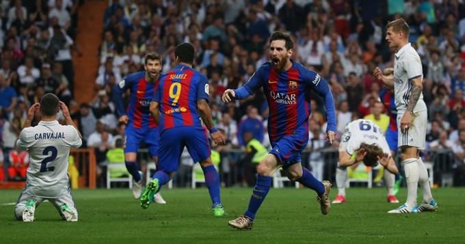 Messi la rompió toda y Barcelona se quedó con el clásico