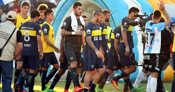 Un desdibujado Boca sólo consiguió un punto en Rafaela