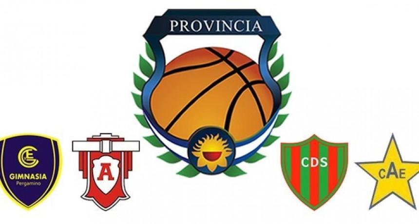 Este viernes se inicia el Final Four del Provincial de Clubes de Básquet