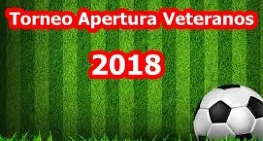 Tercera fecha del Torneo de Veteranos de Fútbol