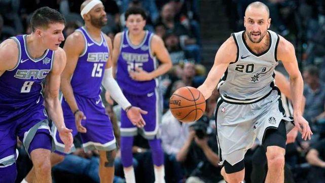 Ginóbili, nivel Dios: superó a Michael Jordan y metió a los Spurs en playoffs