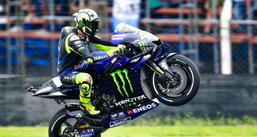 Márquez logró su primer triunfo del año y Valentino Rossi le ganó a Dovizioso la batalla del segundo puesto