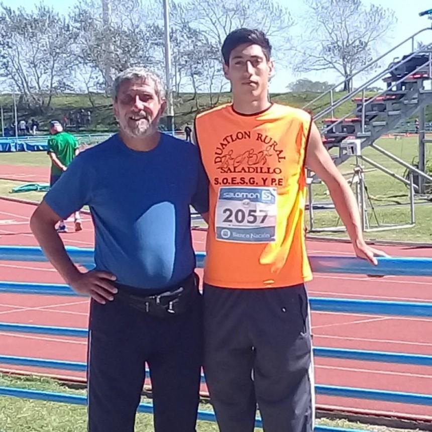Elí Jeremías Follis compitió en Mar del Plata