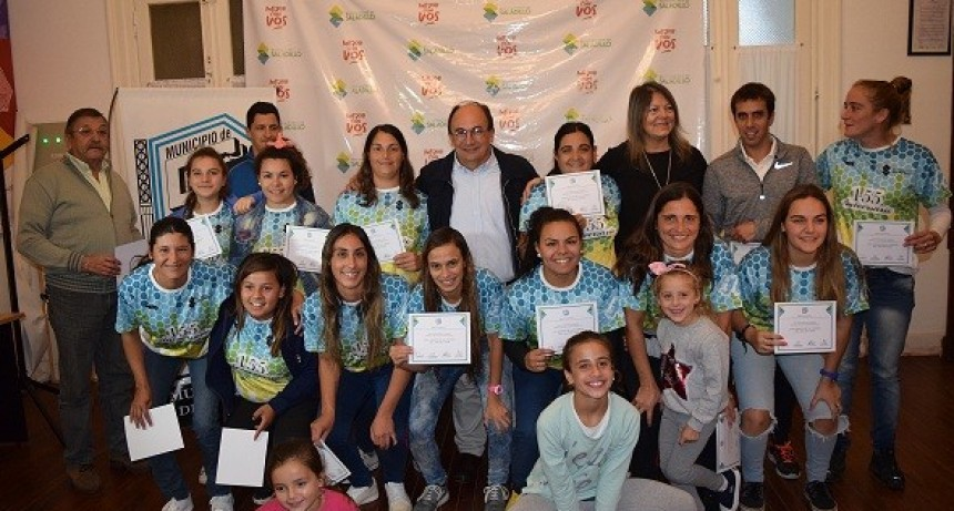 Se entregaron reconocimientos  a los participantes de las Olimpíadas  de  la Cuenca del Salado