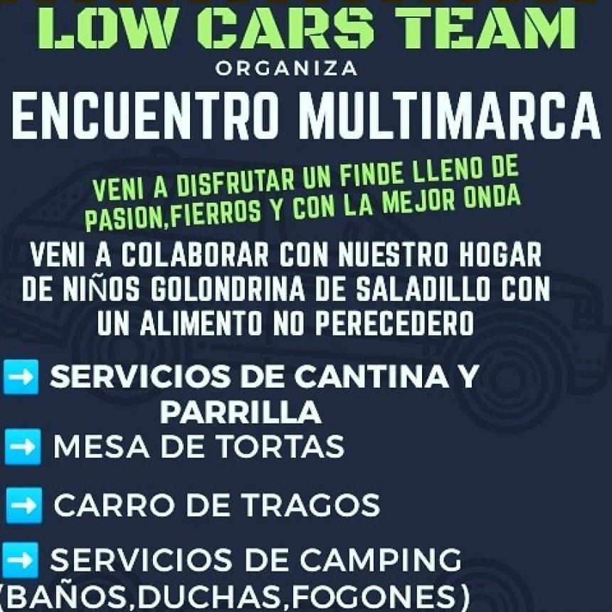 La agrupación Low Cars organiza Encuentro multitudinario de Autos