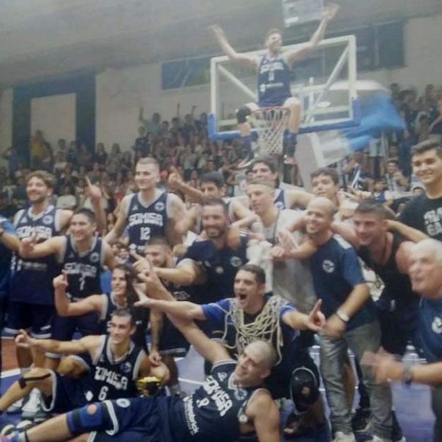 Somisa se consagro campeón Provincial de clubes de Basquet