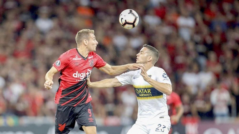 Boca perdió en Curitiba ante Atlético Paranaense por la Copa Libertadores