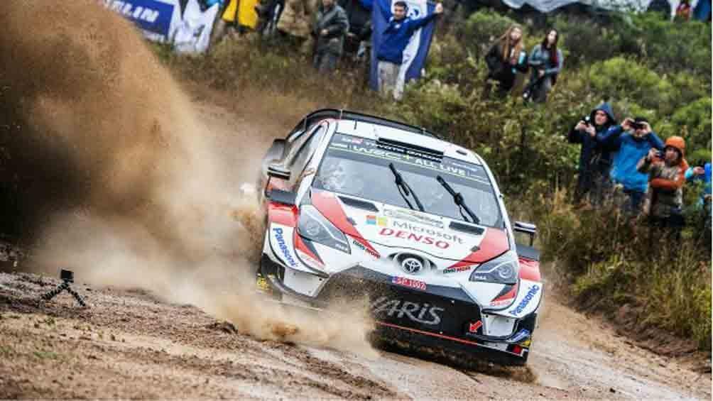 Tanak fue el más rápido en la previa del inicio del Rally de Argentina