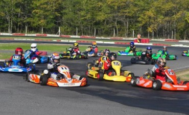 Pilotos de Saladillo con suerte dispar en el Kartódromo de Buenos Aires