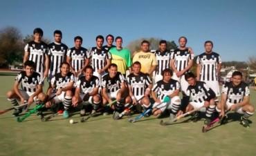 Saladillo Hockey debutó en el torneo masculino de la Liga de Tandil