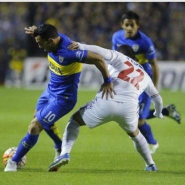 Angustiante clasificacion de Boca a semifinales de la Copa Libertadores