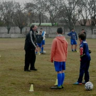 Se dictó Capacitación de Fútbol Infanto Juvenil