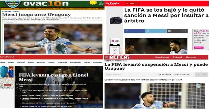 Chile y Uruguay