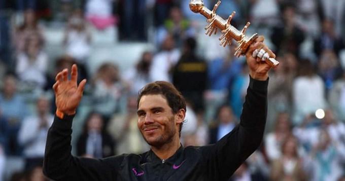 Nadal no para de ganar: campeón en Madrid
