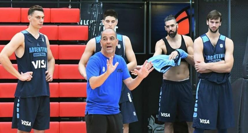 La selección Argentina de básquet entra en el tramo final para China 2019