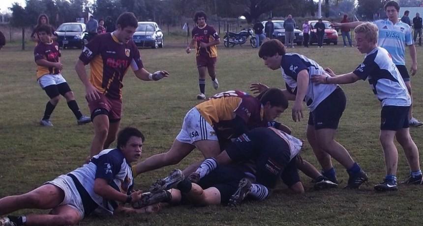 Jornada de Rugby en Saladillo (juegan infantiles - M17 - Primera e Intermedia)