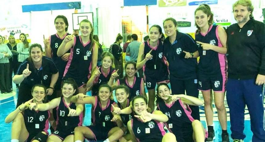 Selección sub15 de Olavarría con Belén Rojas fue el campeón del Zonal