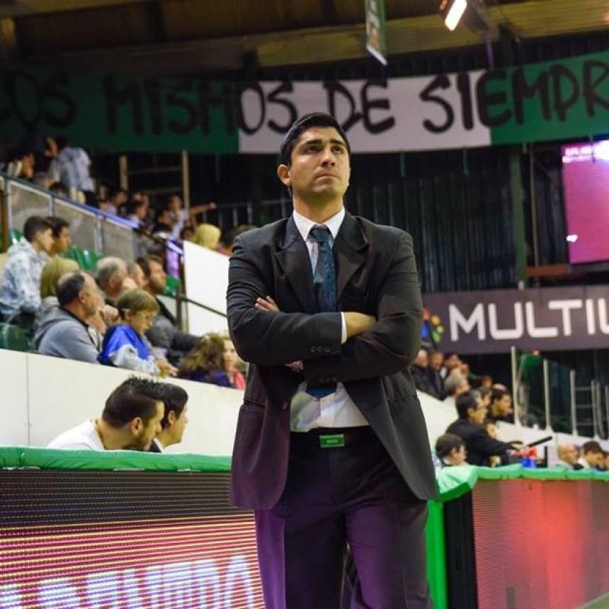 Martín Villagrán, elegido como Mejor Entrenador del Año