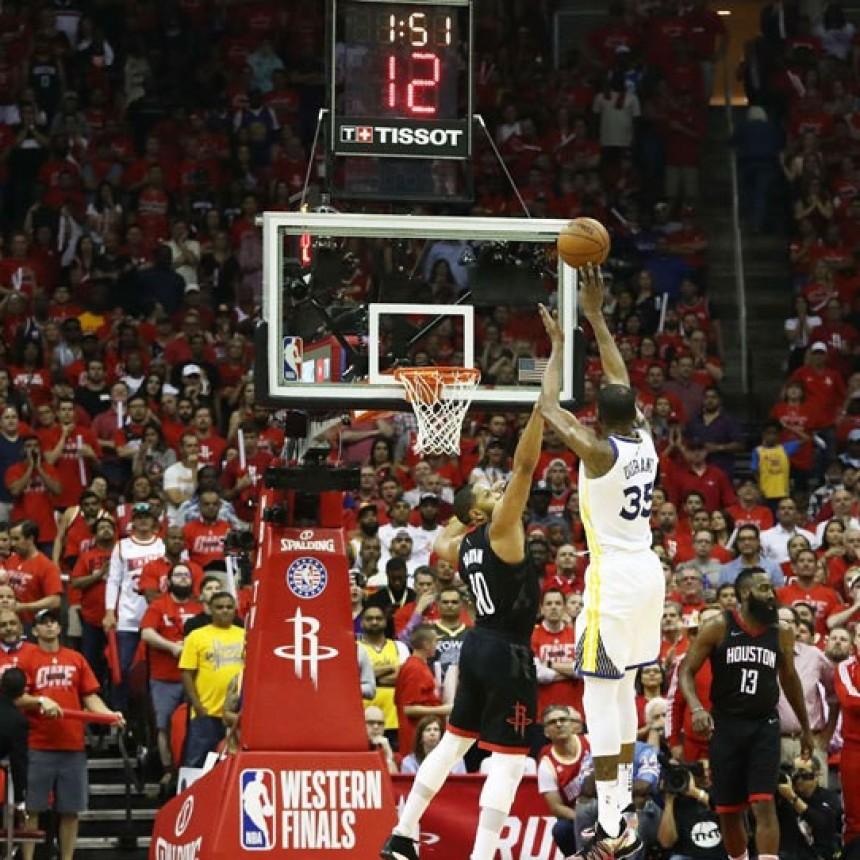 Durant y Curry llegan a tiempo para jugar otra Final de la NBA