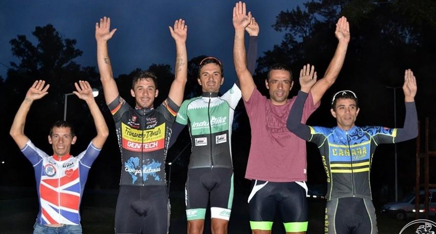 Hubo ciclismo en Lobos con varios saladillenses con buenos resultados