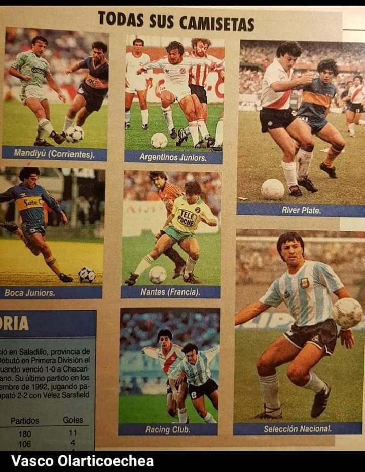 Hace 43 años debutaba el Vasco Olarticoechea en Racing
